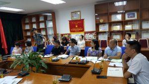 Tham gia buổi lễ có đại diện chủ đầu tư, tổ giám sát thi công và đại diện đội dư án HiPT
